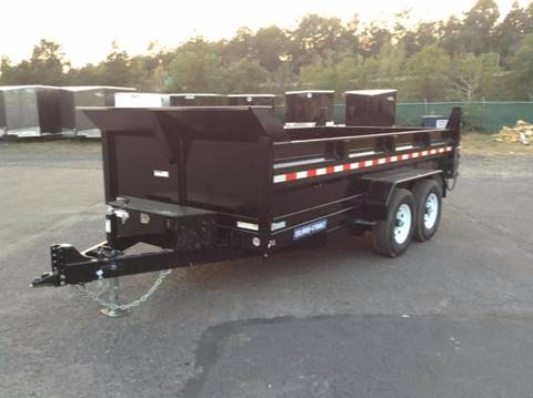 2018 Sure-Trac 7X14 14K DUMP TRAILER for sale in Taylor, PA
