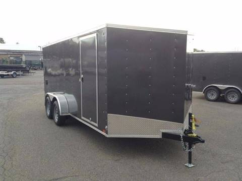 2018 Look Trailers STLC 7X16 RAMP DOOR for sale in Taylor, PA