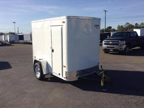 2018 Look Trailers STLC 5X8 RAMP-SIDE DOOR