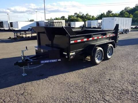 2019 Sure-Trac 6X10 7K DUMP-RAMPS  for sale in Taylor, PA