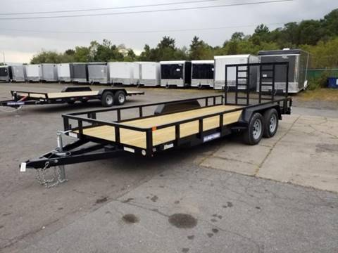 2020 Sure-Trac 7X18 7K TUBE TOP UTILITY  for sale in Taylor, PA