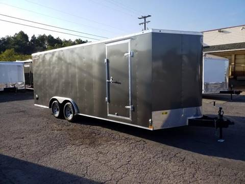 2020 Wells Cargo FT 8.5X20 7K CAR HAULER  for sale in Taylor, PA