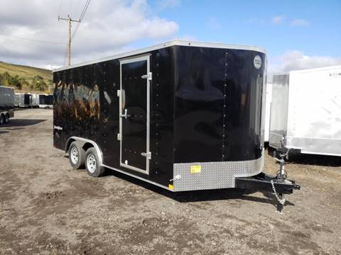 2019 Wells Cargo FT 8.5X16 7K CAR HAULER  for sale in Taylor, PA