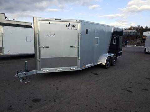 2020 Look Trailers LASQ 7X23 ALUM SNOWMOBILE  for sale in Taylor, PA