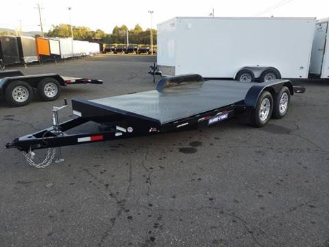 2019 Sure-Trac 7X18 7K STEEL DECK  for sale in Taylor, PA