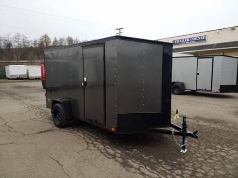 2021 Look Trailers STLC 6X12 BLACKED OUT