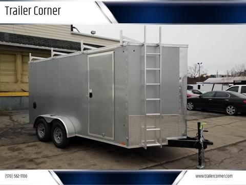 2021 Look Trailers EWLC 7X14 CONSTRUCTION TRAILER