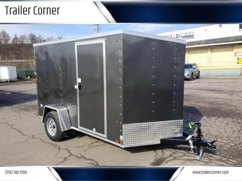 2021 Look Trailers STLC 6X10 RAMP DOOR