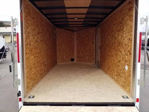 2021 Look Trailers STLC 7X14 EXTRA HEIGHT