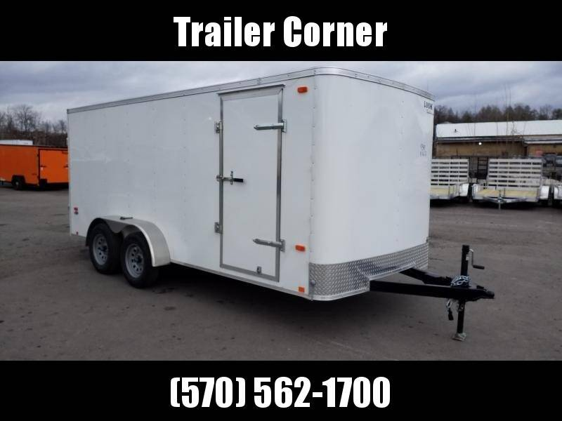 2019 Look Trailers STLC 7X16 RAMP DOOR