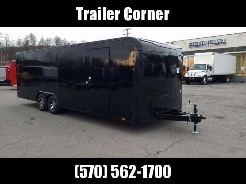 2021 Look Trailers LXT 8.5X24 10K BLACKED OUT
