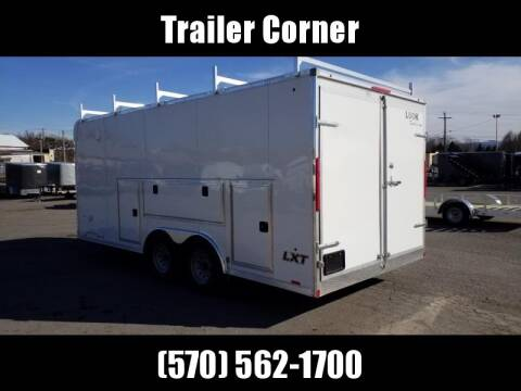 2021 Look Trailers LXT 8.5X18 10K TOOL CRIB