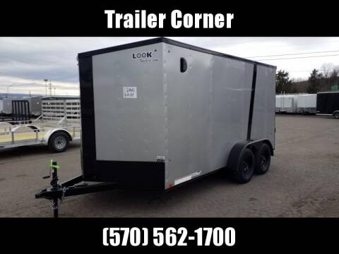 2021 Look Trailers STLC 7X14 BLACKED OUT