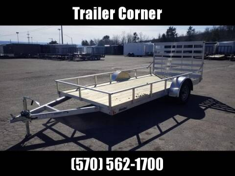 2020 MISSION 6.5X14 ALUMINUM UTILITY for sale at Trailer Corner in Taylor PA