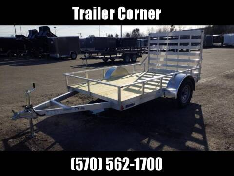 2020 MISSION 6X10 ALUMINUM UTILITY for sale at Trailer Corner in Taylor PA