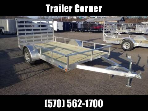 2020 MISSION 6.5X12 ALUMINUM UTILITY for sale at Trailer Corner in Taylor PA