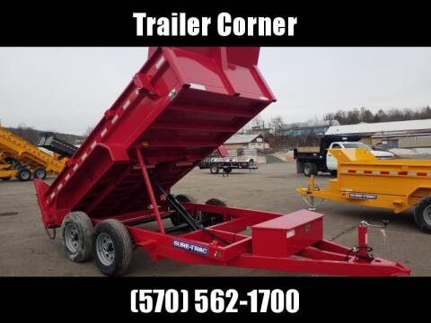2020 Sure-Trac 6X12 10K RAMPS - DUMP for sale at Trailer Corner in Taylor PA