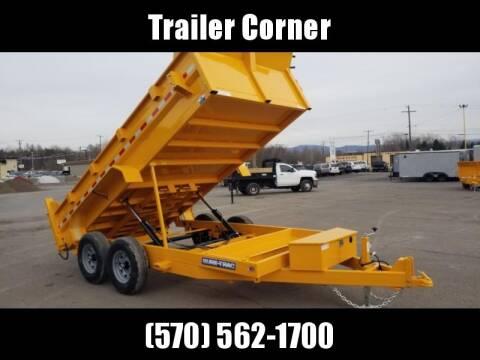2020 Sure-Trac 7X14 14K DUAL RAM - TARP for sale at Trailer Corner in Taylor PA