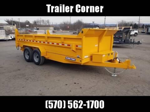 2020 Sure-Trac 7X16 14K SCISSOR - TARP - RAMP for sale at Trailer Corner in Taylor PA