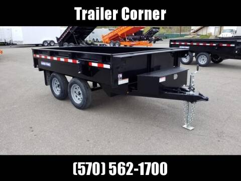 2020 Sure-Trac 6X10 7K DECKOVER DUMP for sale at Trailer Corner in Taylor PA