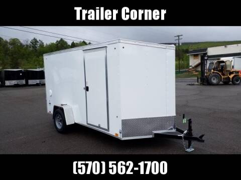 2021 Look Trailers STLC 6X12 RAMP DOOR for sale at Trailer Corner in Taylor PA