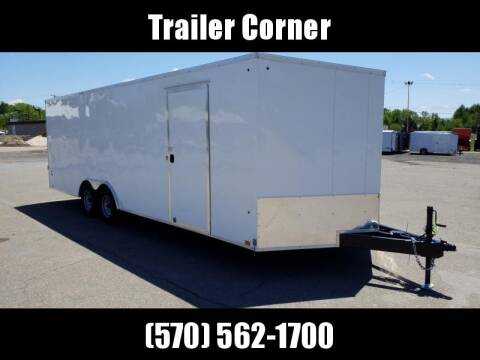 2020 Look Trailers ST 8.5X24 10K DLX CAR HAULER for sale at Trailer Corner in Taylor PA