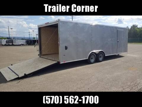 2020 Look Trailers ST 8.5X24 10K DLX ESCAPE DOOR