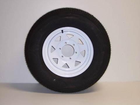 "2014 Haulmark 15"" Spare Radial Tire & Wheel"