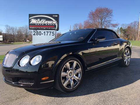 2008 Bentley Continental GTC for sale in Latham, NY