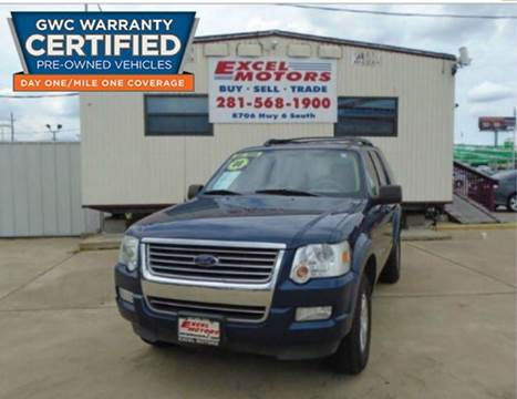2008 Ford Explorer for sale at Excel Motors in Houston TX