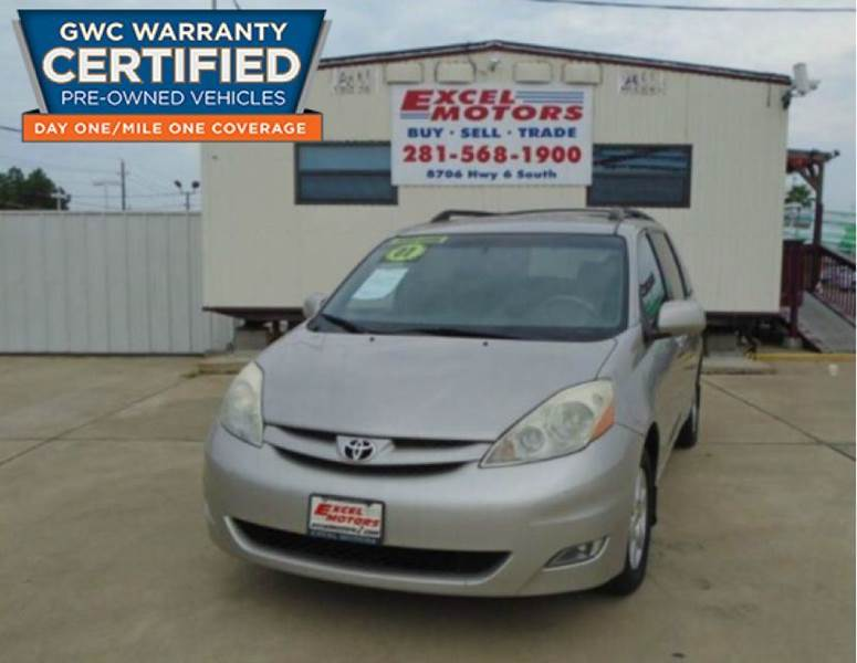 2007 Toyota Sienna for sale at Excel Motors in Houston TX