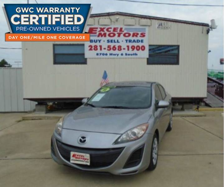 2011 Mazda MAZDA3 for sale at Excel Motors in Houston TX