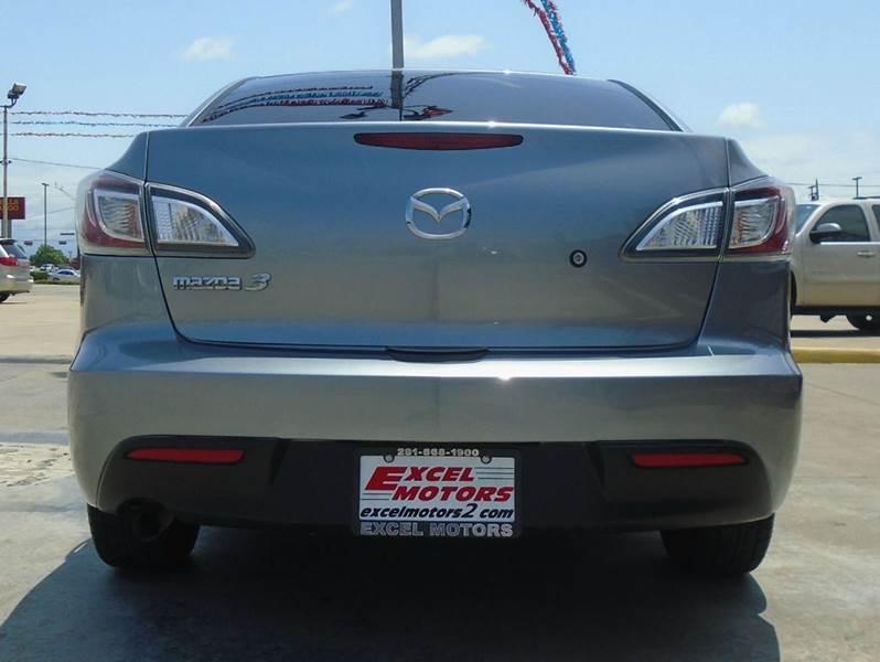 2011 Mazda MAZDA3 for sale at Excel Motors in Houston TX
