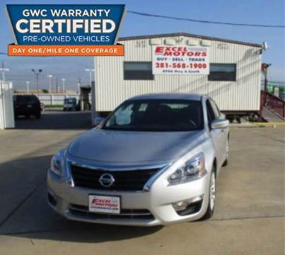 2015 Nissan Altima for sale at Excel Motors in Houston TX