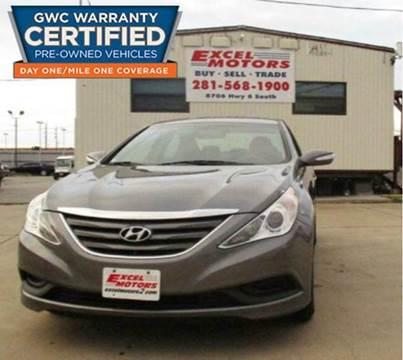 2014 Hyundai Sonata for sale at Excel Motors in Houston TX