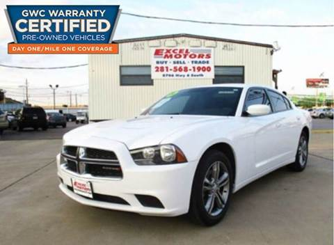 2014 Dodge Charger for sale at Excel Motors in Houston TX