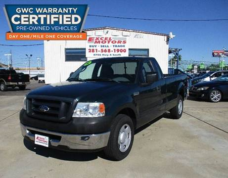 2008 Ford F-150 for sale at Excel Motors in Houston TX