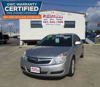 2008 Saturn Aura for sale at Excel Motors in Houston TX