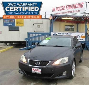 2008 Lexus IS 250 for sale at Excel Motors in Houston TX