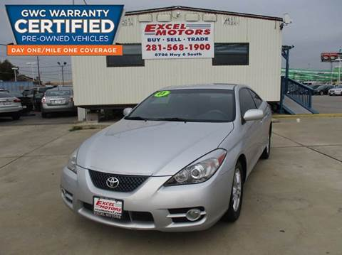 2007 Toyota Camry Solara for sale at Excel Motors in Houston TX