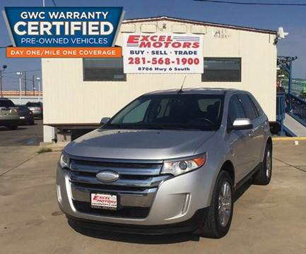 2012 Ford Edge for sale at Excel Motors in Houston TX
