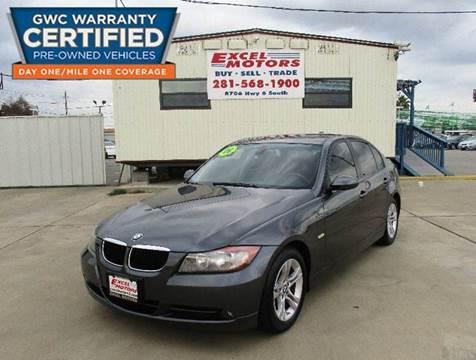 2008 BMW 3 Series for sale at Excel Motors in Houston TX