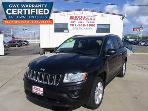 2011 Jeep Compass for sale at Excel Motors in Houston TX