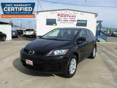2007 Mazda CX-7 for sale at Excel Motors in Houston TX
