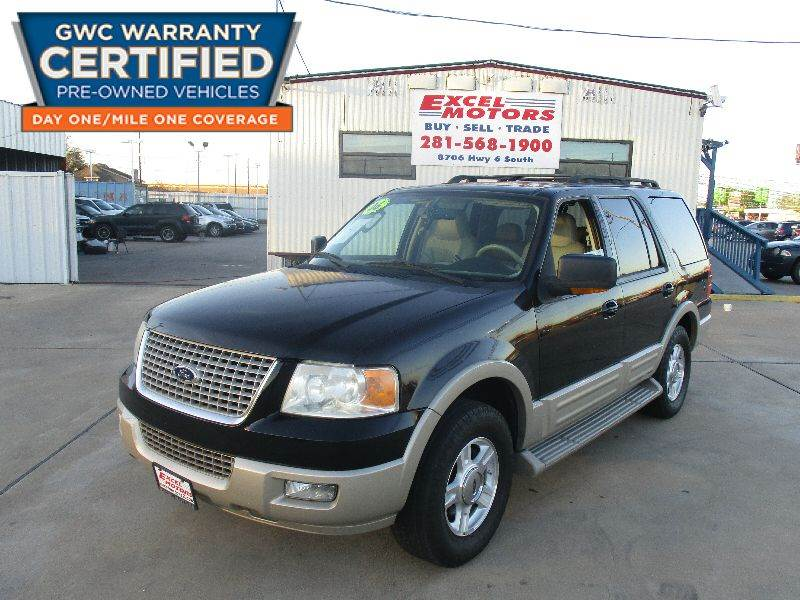 Ford Expedition For Sale At Excel Motors In Houston Tx
