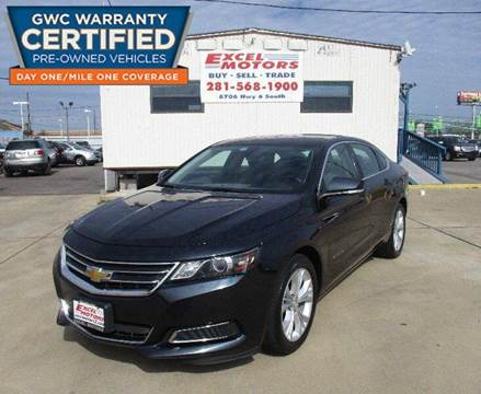 2014 Chevrolet Impala for sale at Excel Motors in Houston TX