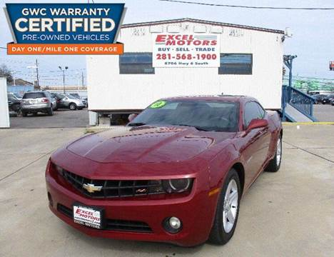 2010 Chevrolet Camaro for sale at Excel Motors in Houston TX
