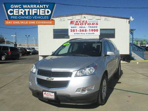 2012 Chevrolet Traverse for sale at Excel Motors in Houston TX
