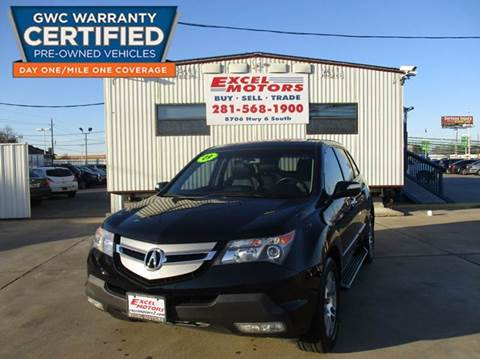 2009 Acura MDX for sale at Excel Motors in Houston TX