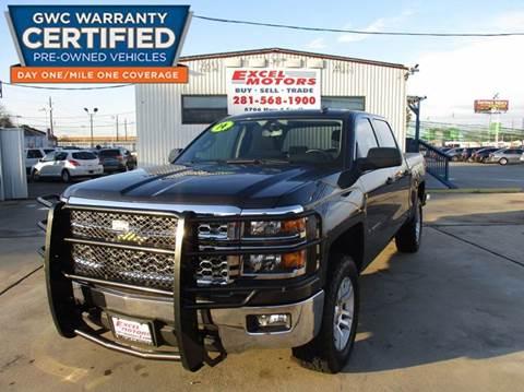 2014 Chevrolet Silverado 1500 for sale at Excel Motors in Houston TX
